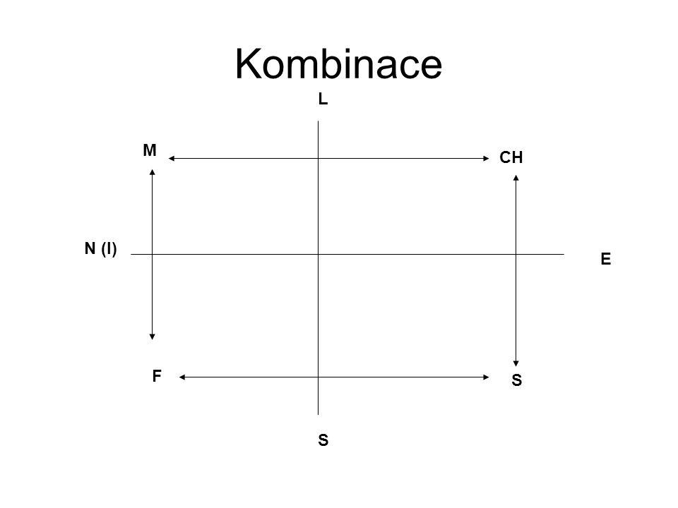 Kombinace CH S M F E N (I) S L