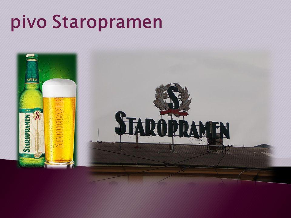 pivo Staropramen