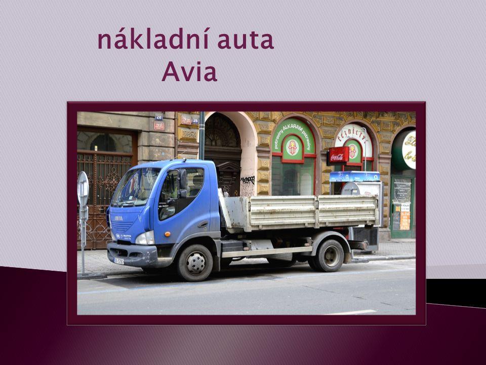 nákladní auta Avia