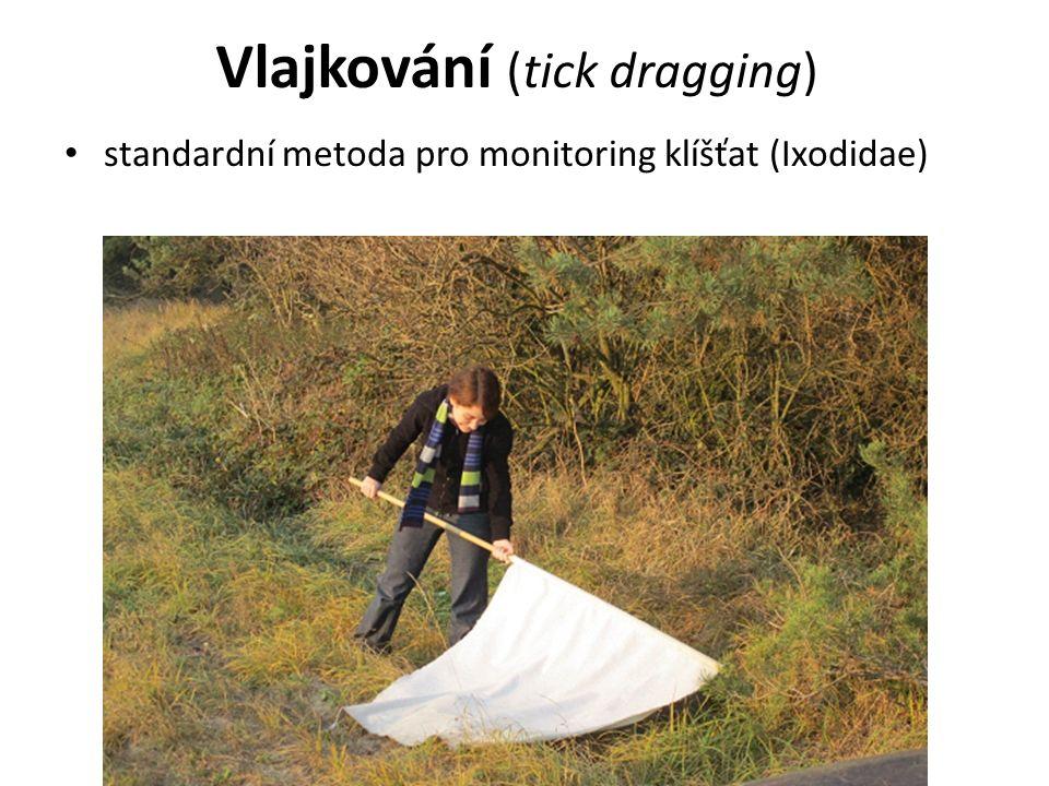 Vlajkování (tick dragging) standardní metoda pro monitoring klíšťat (Ixodidae)