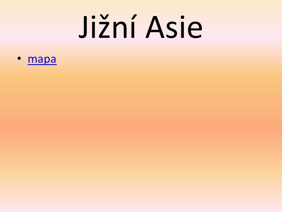Jižní Asie Datum vytvoření: 27.12.