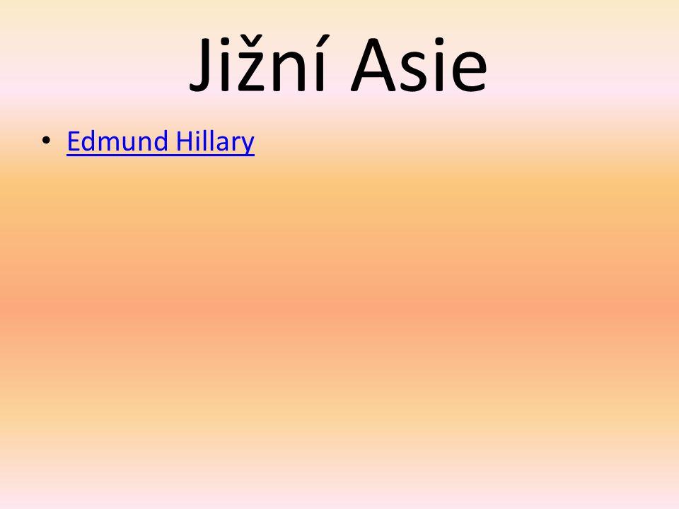 Jižní Asie Edmund Hillary
