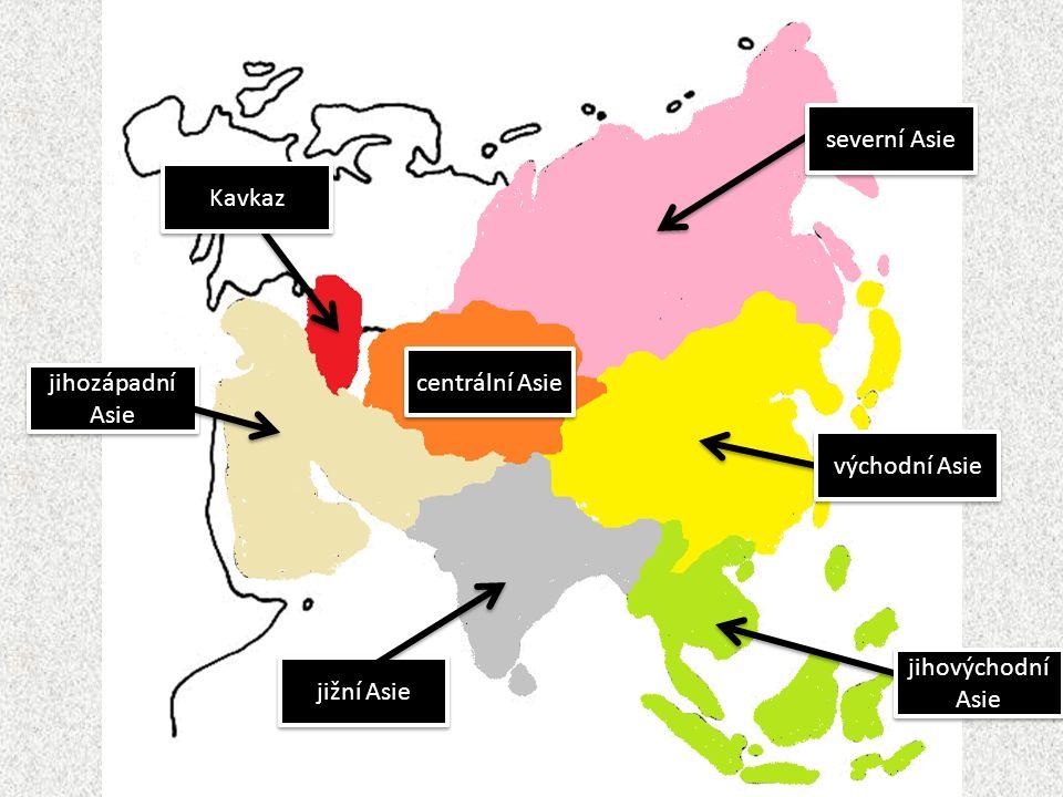 poloha: tektonicky aktivní oblast: častý výskyt zemětřesení přírodní podmínky: suché subtropické a tropické podnebí, nedostatek srážek; bohatá naleziště ropy (Arabský poloostrov, Perský záliv) – téměř polovina světových zásob, a zemního plynu obyvatelstvo: náboženství – islám; jazyk – arabština