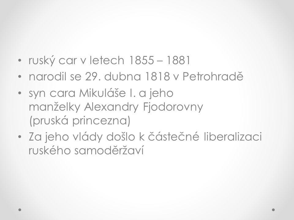 Dětství V mládí se Alexandru II.