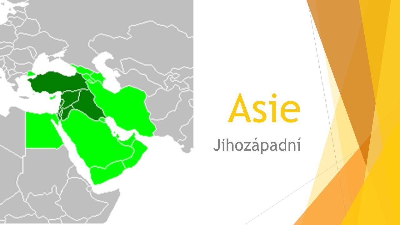 Asie Jihozápadní