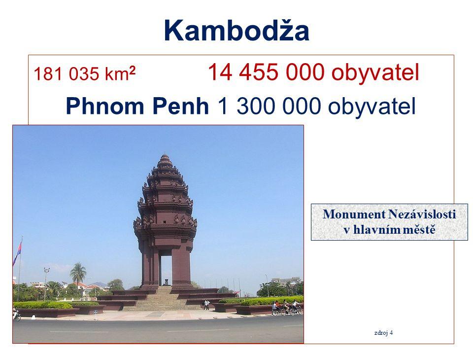 Mapa národních hlavních silnic Kambodže zdroj 10