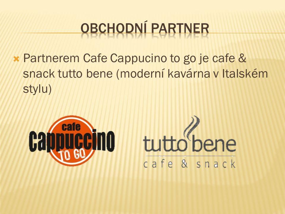  Partnerem Cafe Cappucino to go je cafe & snack tutto bene (moderní kavárna v Italském stylu)