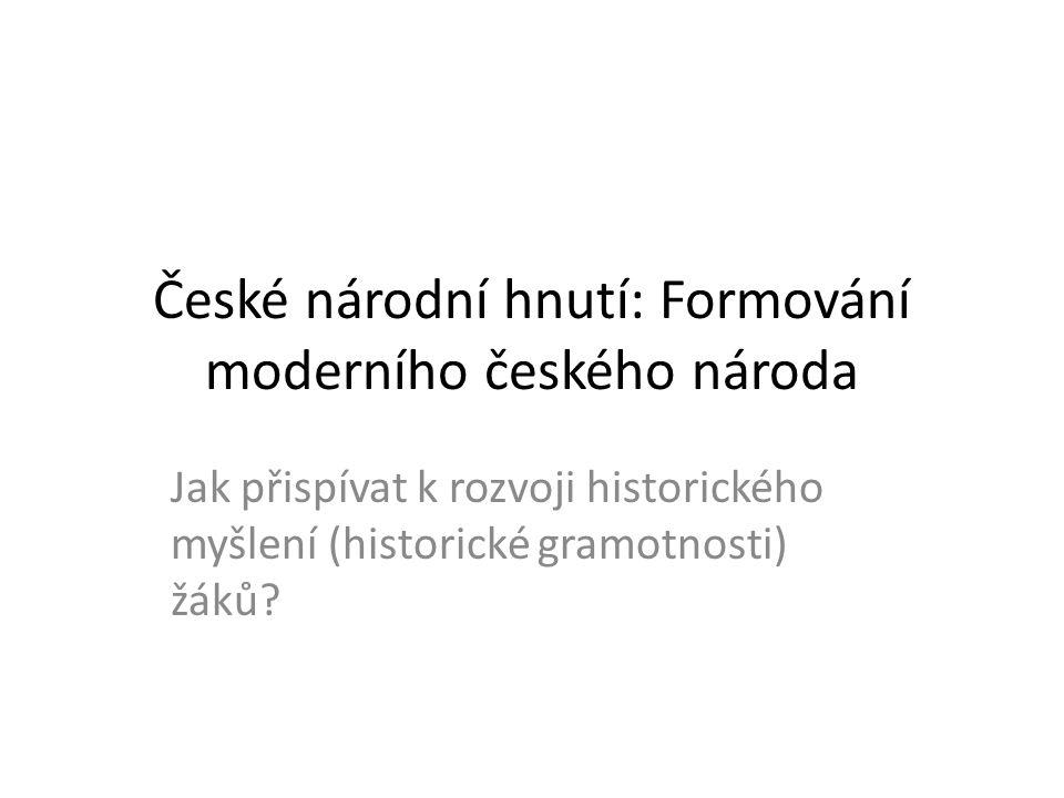 1750 1850 1800 1 národ, 2 kmeny českýněmecký