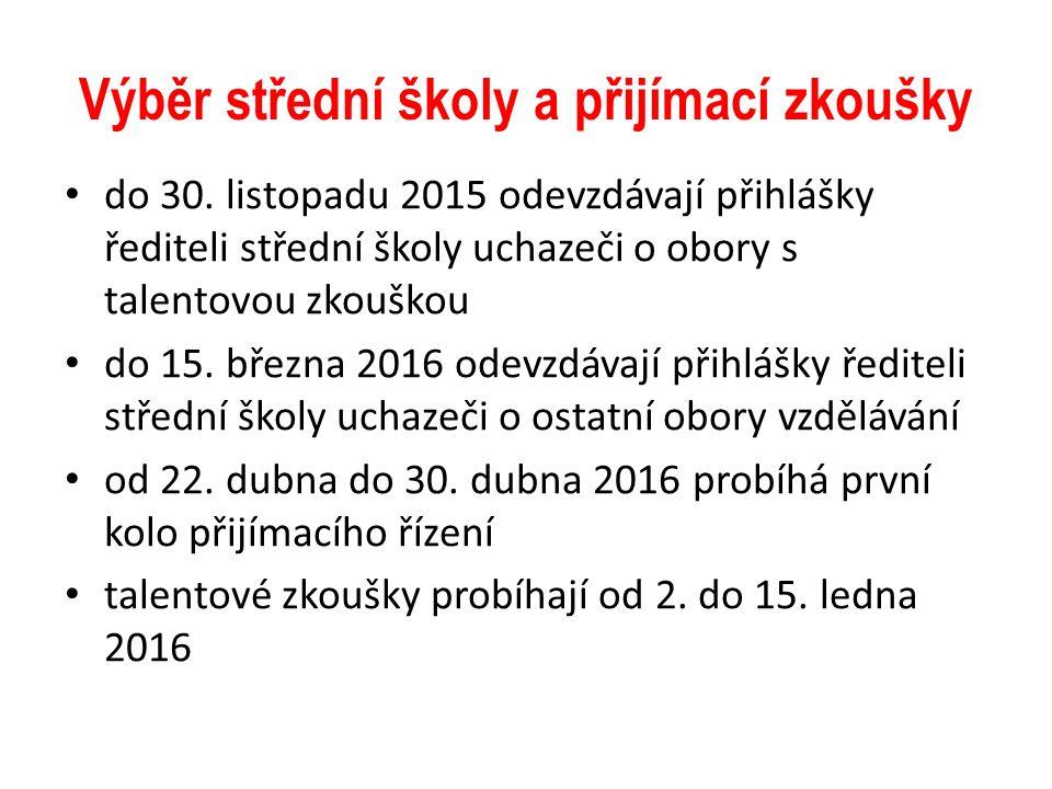 Orientační plán akcí 1.10. - Běh naděje, Bělský les 19.