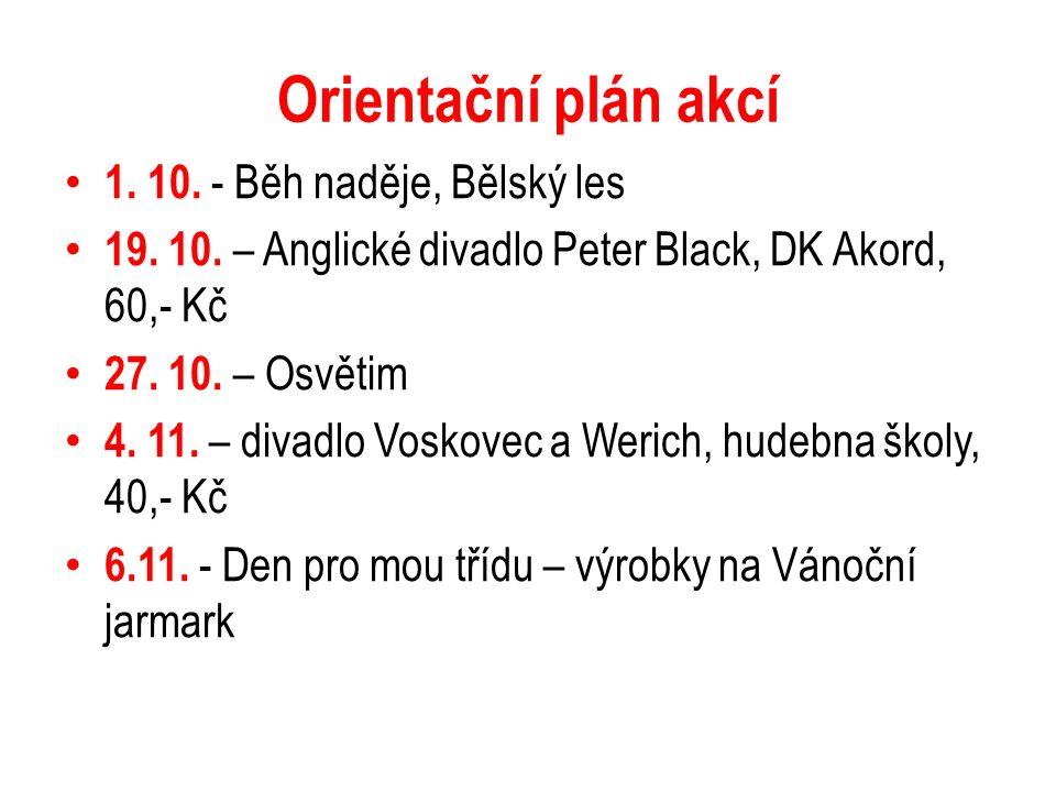 Plán akcí 12.11. – Den otevřených dveří VŠB 16. 11.