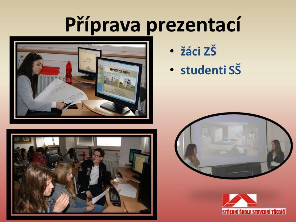 Příprava prezentací žáci ZŠ studenti SŠ