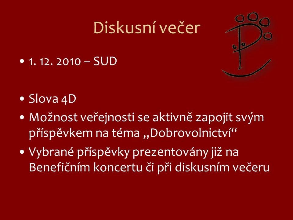 Diskusní večer 1.12.