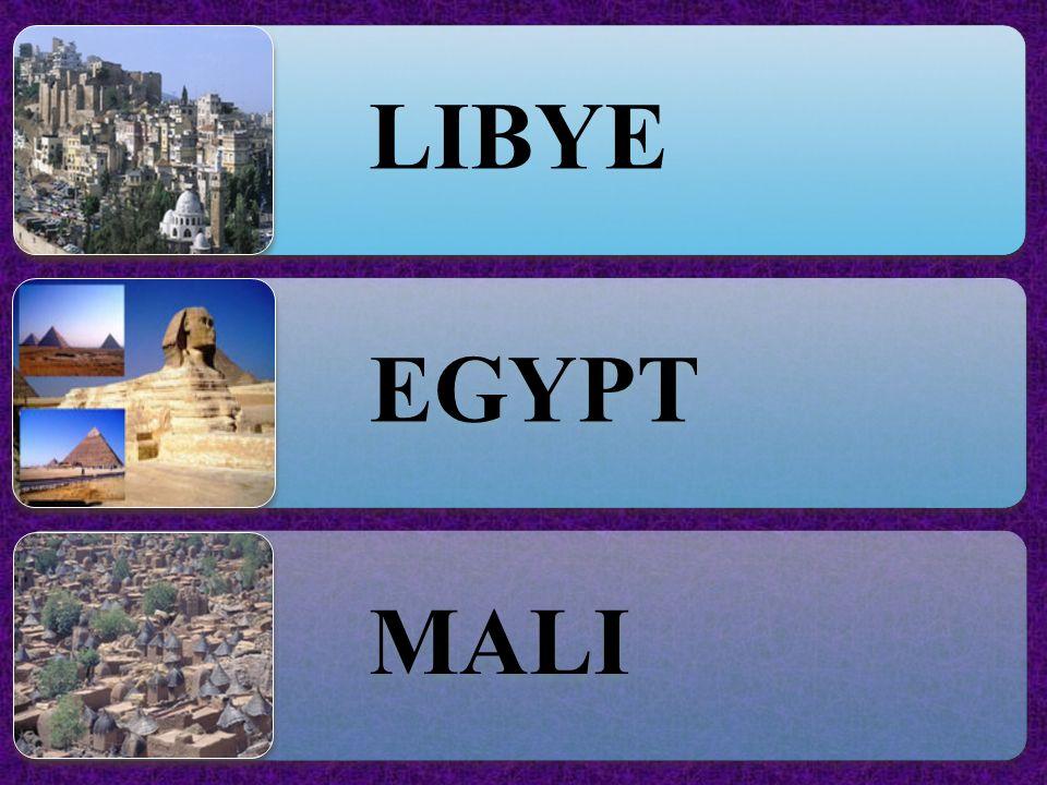 LIBYE EGYPT MALI