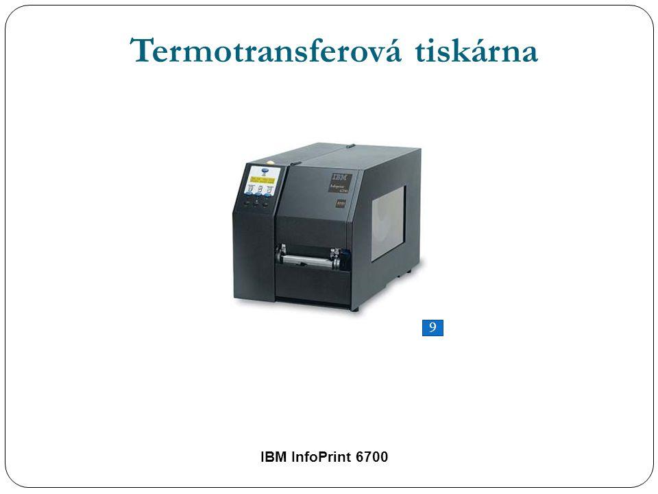 IBM InfoPrint 6700 Termotransferová tiskárna 9