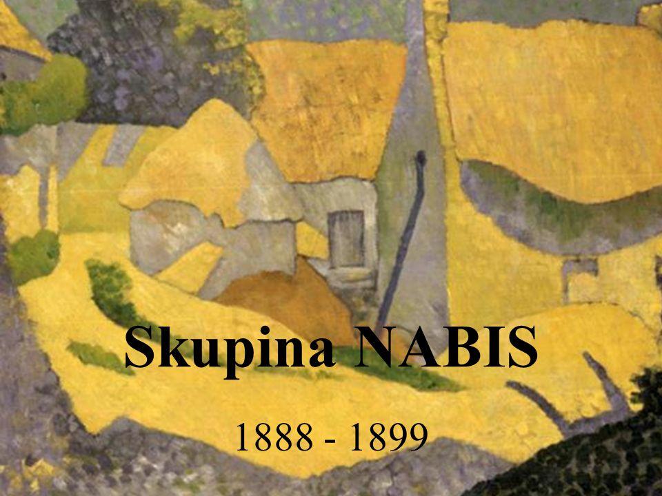 Skupina NABIS 1888 - 1899