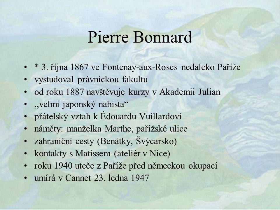 Pierre Bonnard * 3.