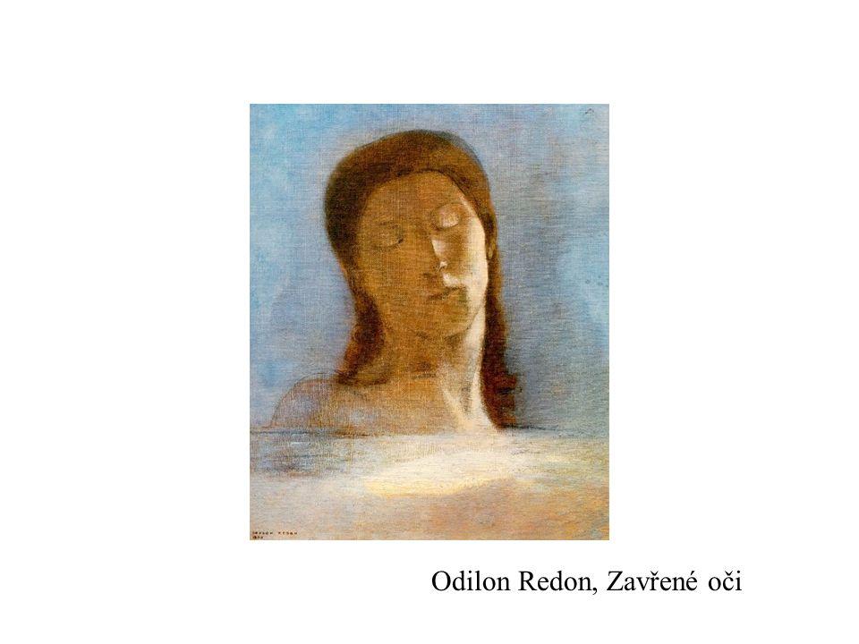 Odilon Redon, Zavřené oči