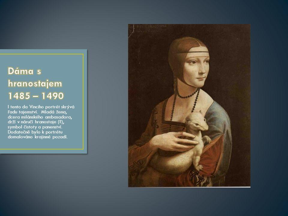 Portrét, byť idealizovaný, není v gotice obvyklý.Jde o deskovou malbu z cyklu pro kapli sv.