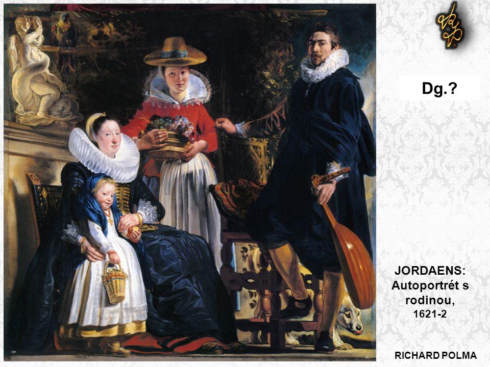 JORDAENS: Autoportrét s rodinou, 1621-2 Dg.