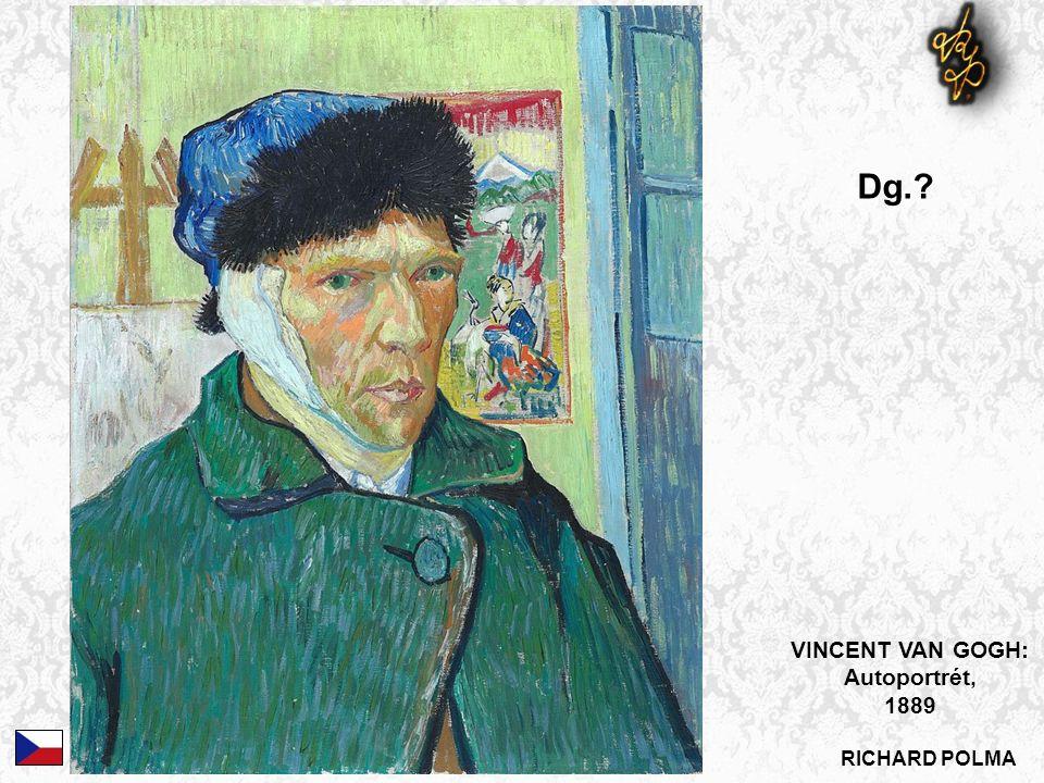 VINCENT VAN GOGH: Autoportrét, 1889 Dg.