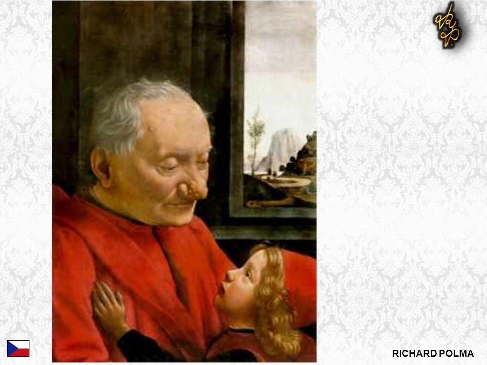 DOMENICO GHIRLANDAIO: Stařec s vnukem, c.1490 Dg.?
