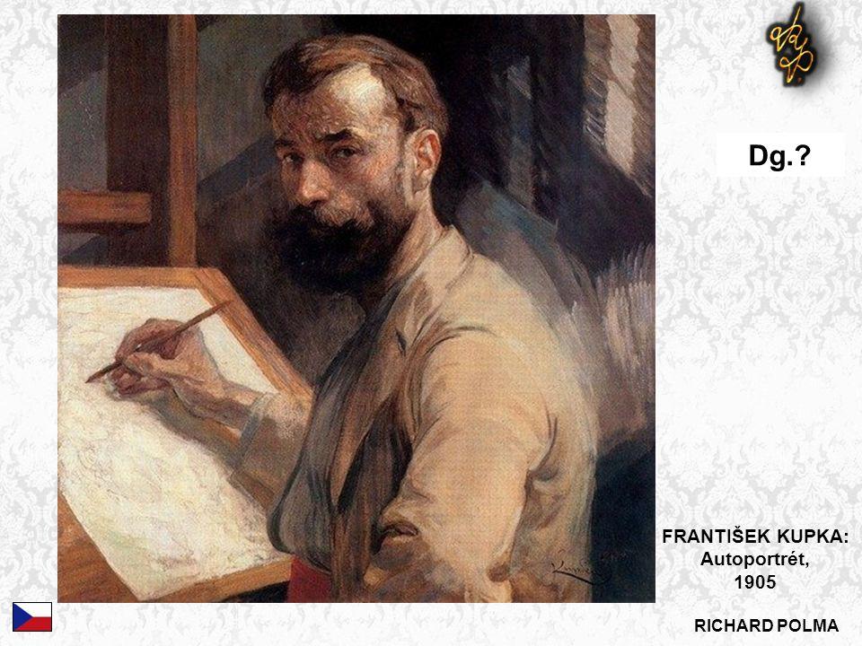 Dg. FRANTIŠEK KUPKA: Autoportrét, 1905