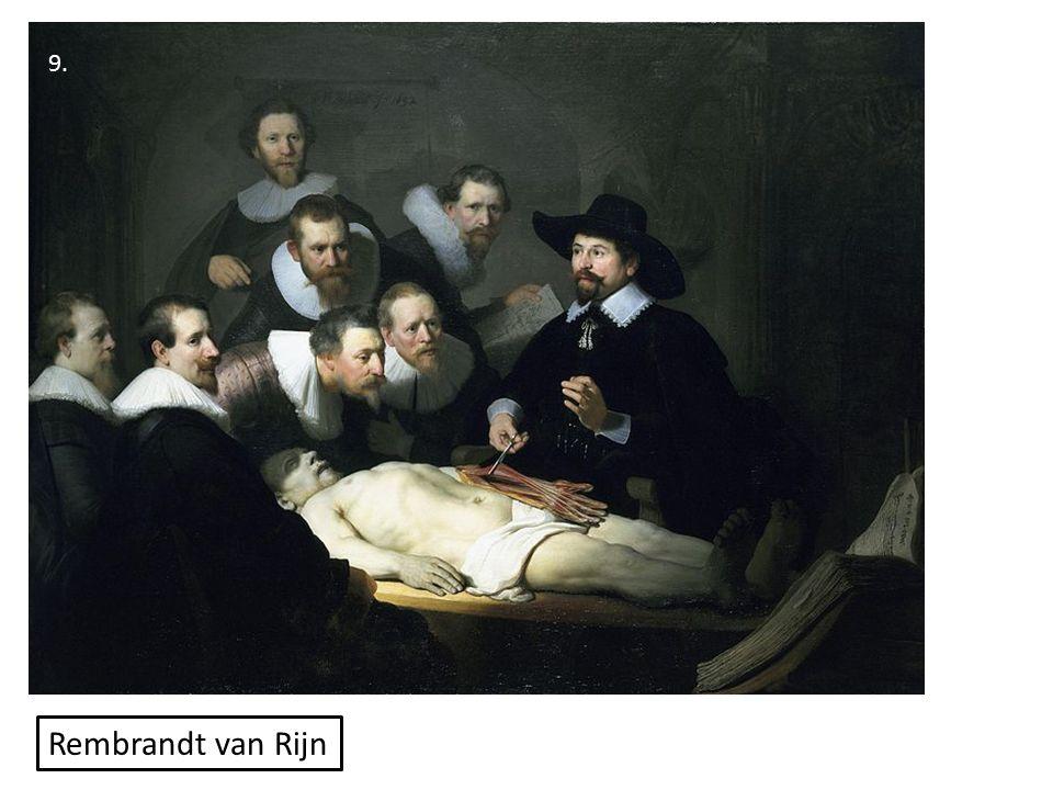9. Rembrandt van Rijn
