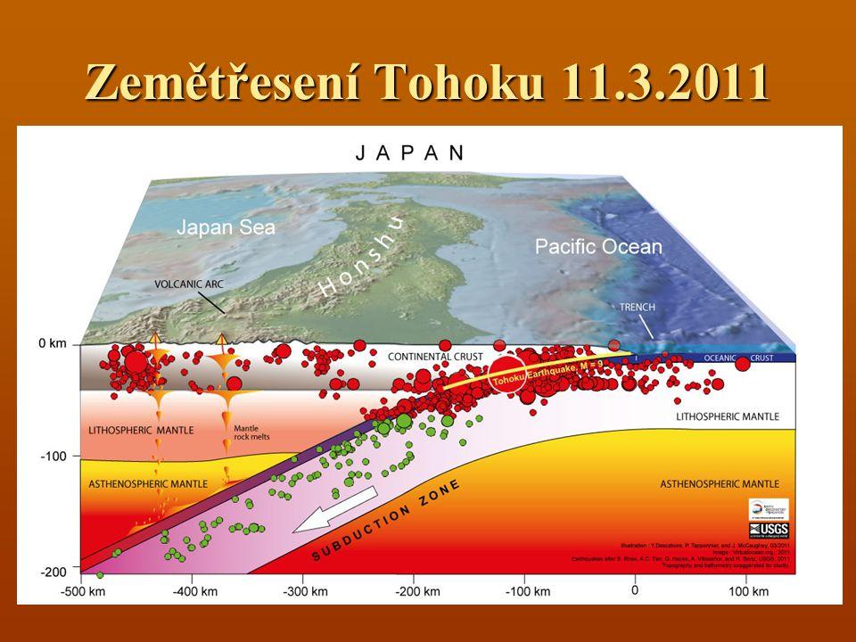 Zemětřesení Tohoku 11.3.2011