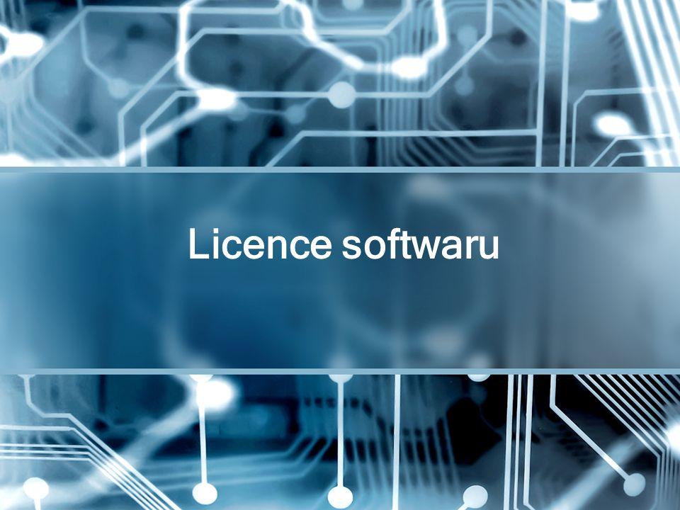 Licence softwaru