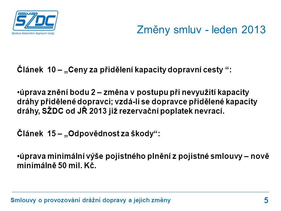 """Příloha 2 - """"Vnitřní předpisy provozovatele dráhy : úprava označení a názvu předpisu D33 - předpis byl v loňském roce novelizován, doplněny: –Směrnice SŽDC č."""