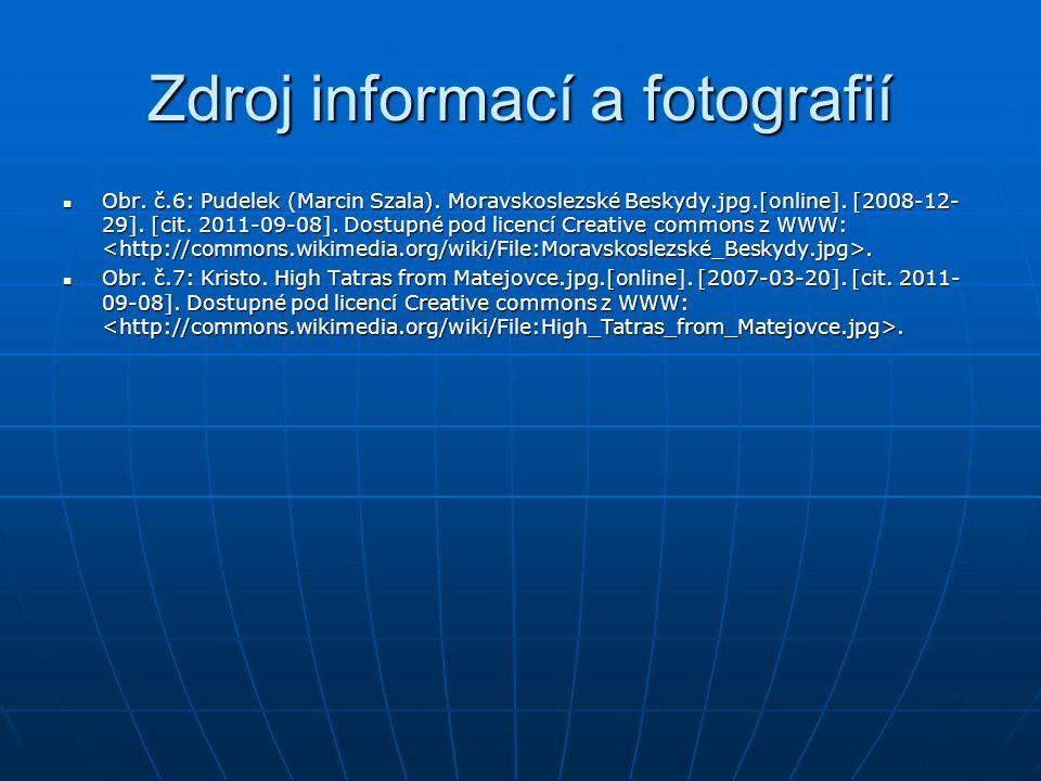Zdroj informací a fotografií Obr. č.6: Pudelek (Marcin Szala).