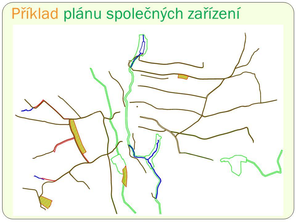 Příklad plánu společných zařízení