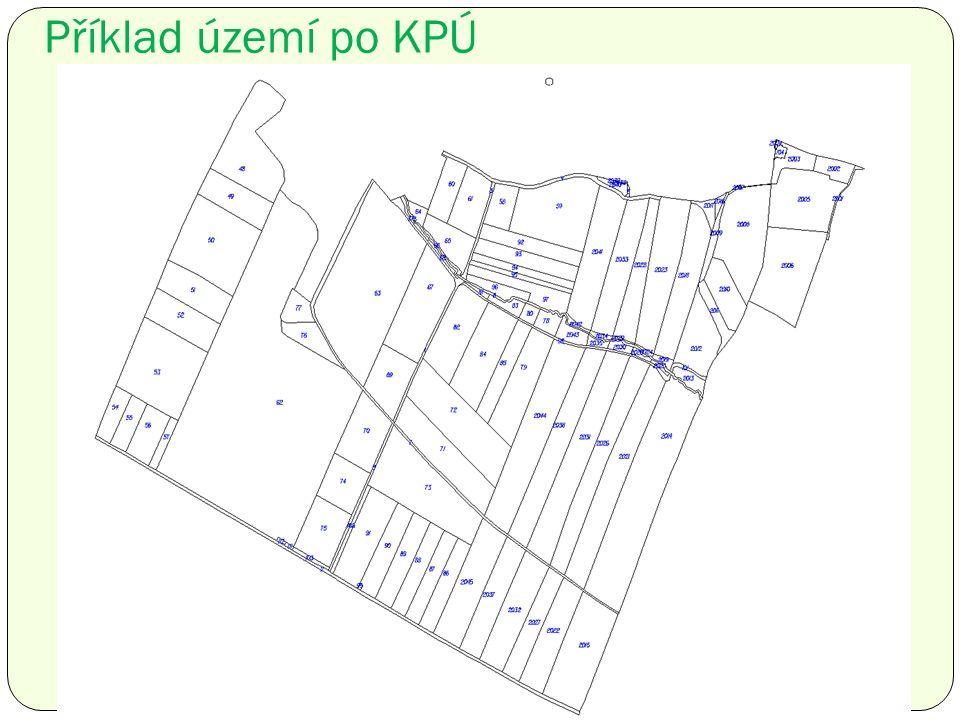 Příklad území po KPÚ