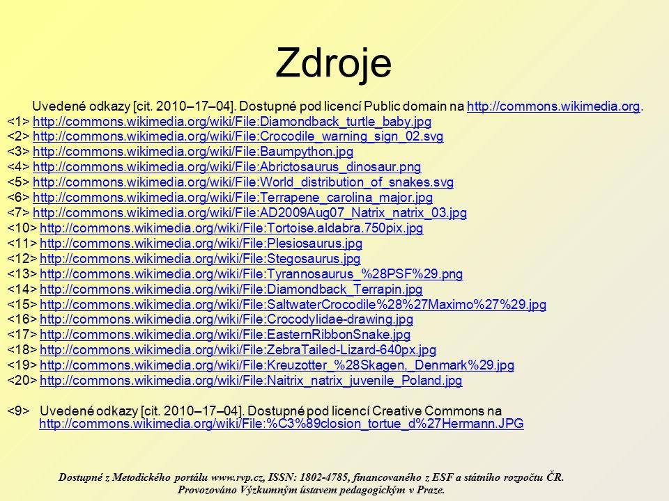Uvedené odkazy [cit. 2010–17–04].