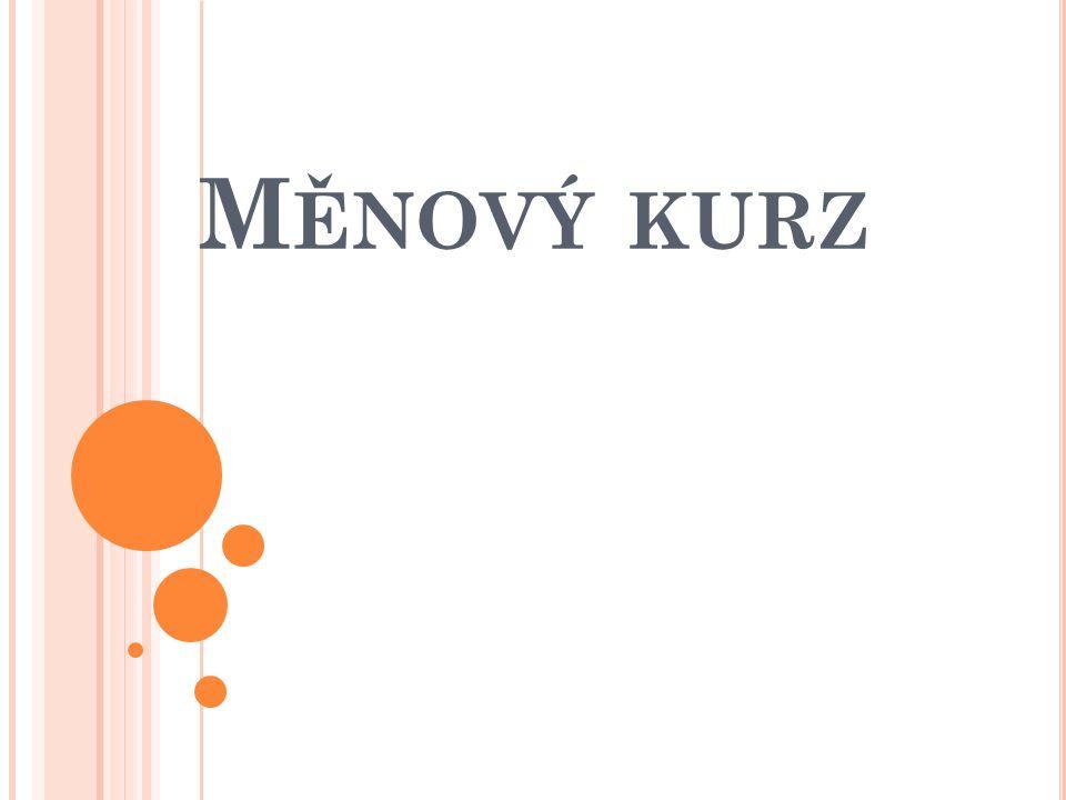 M ĚNOVÝ KURZ