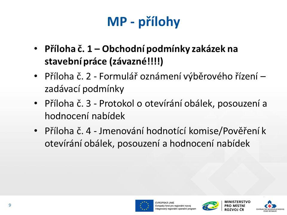 Příloha č. 1 – Obchodní podmínky zakázek na stavební práce (závazné!!!!) Příloha č.
