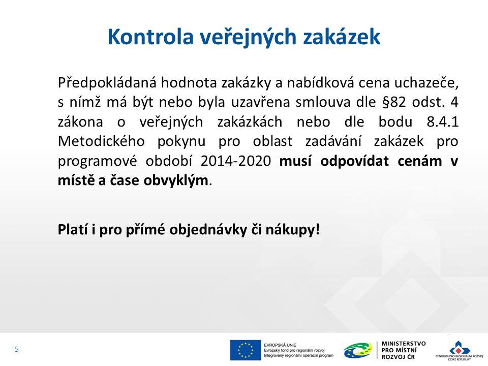 Předpokládaná hodnota zakázky a nabídková cena uchazeče, s nímž má být nebo byla uzavřena smlouva dle §82 odst.