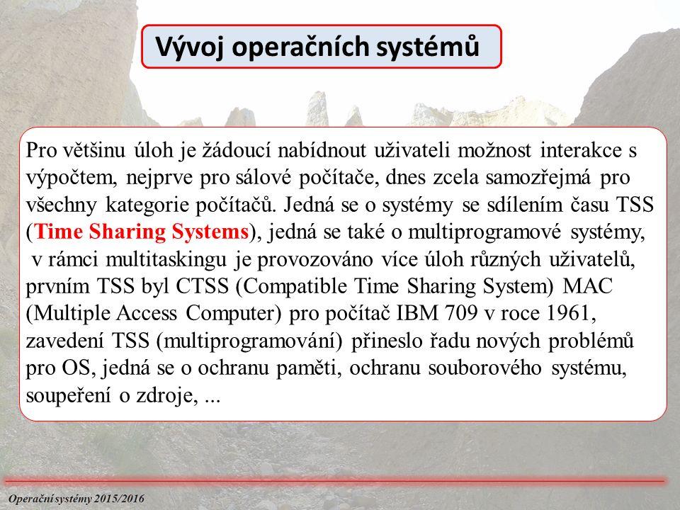 Pro většinu úloh je žádoucí nabídnout uživateli možnost interakce s výpočtem, nejprve pro sálové počítače, dnes zcela samozřejmá pro všechny kategorie počítačů.