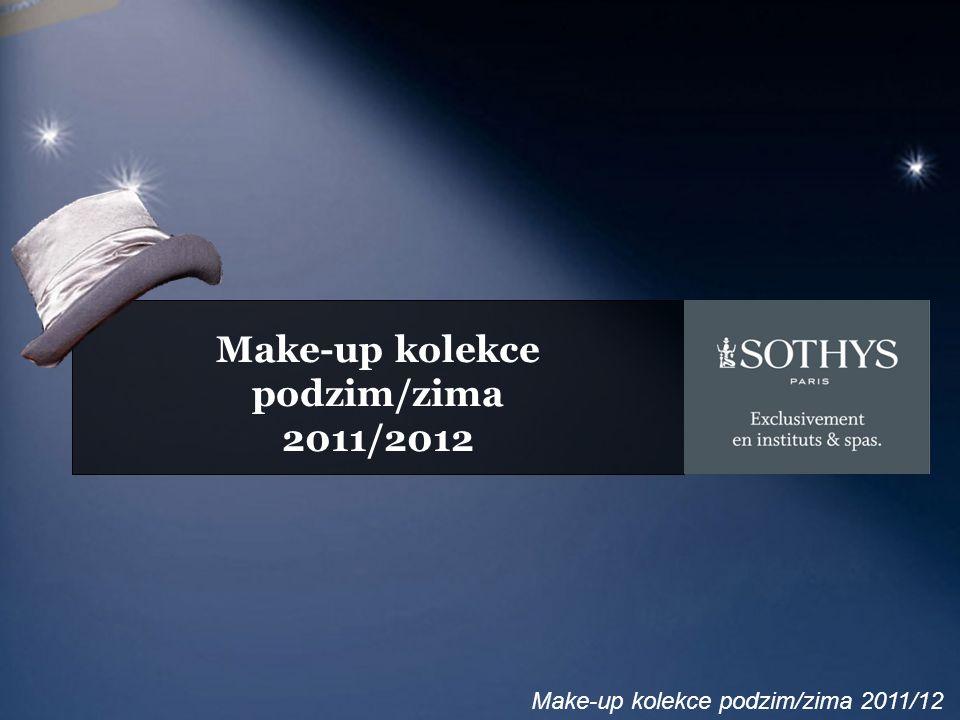 Make-up kolekce podzim/zima 2011/12 Make-up trendy Práškové odstíny na rtech… Tmavé sofistikované stíny na očích… Zářivé líčení…