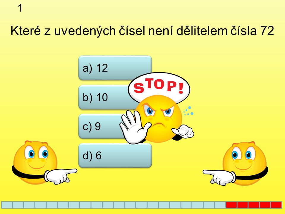21 a) 49 b) 47 c) 45 Které z čísel je prvočíslem d) 42