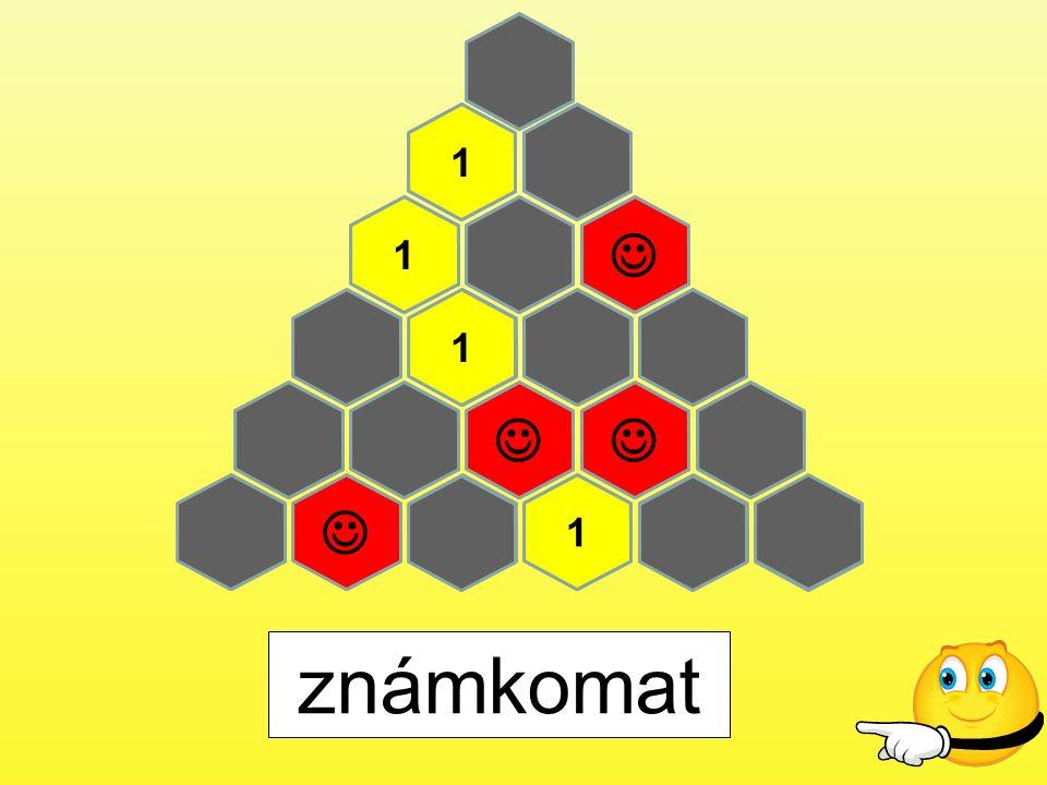 Pravidla hry 1.Hry se účastní 2 družstva (červení a zelení) 2.Družstva si postupně volí čísla otázky.