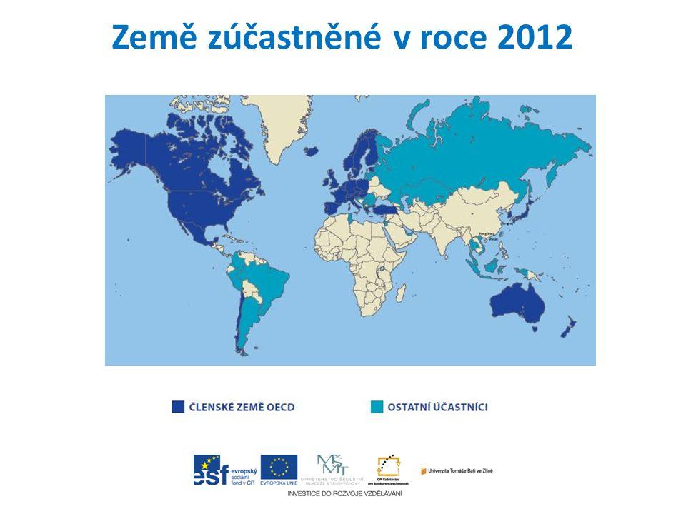 Země zúčastněné v roce 2012