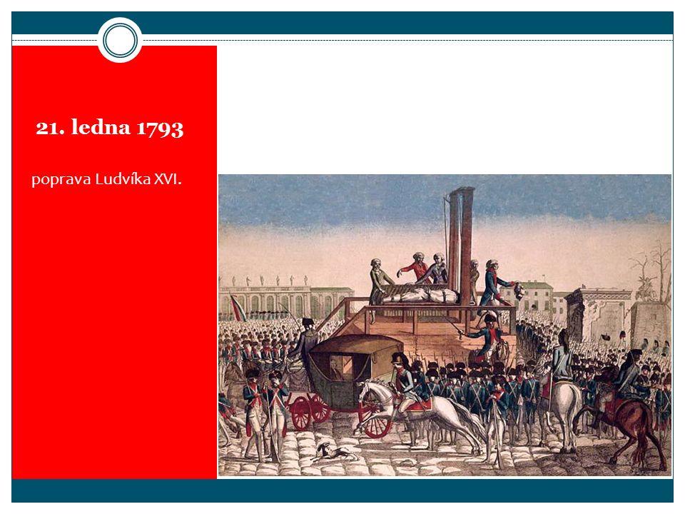 21. ledna 1793 poprava Ludvíka XVI.