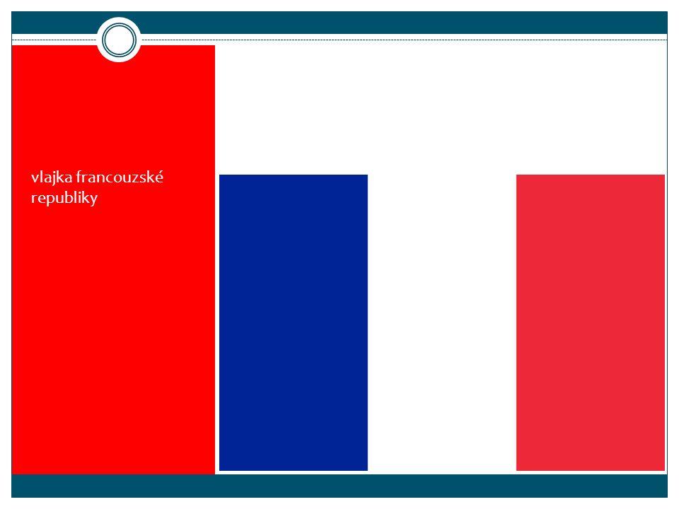 vlajka francouzské republiky