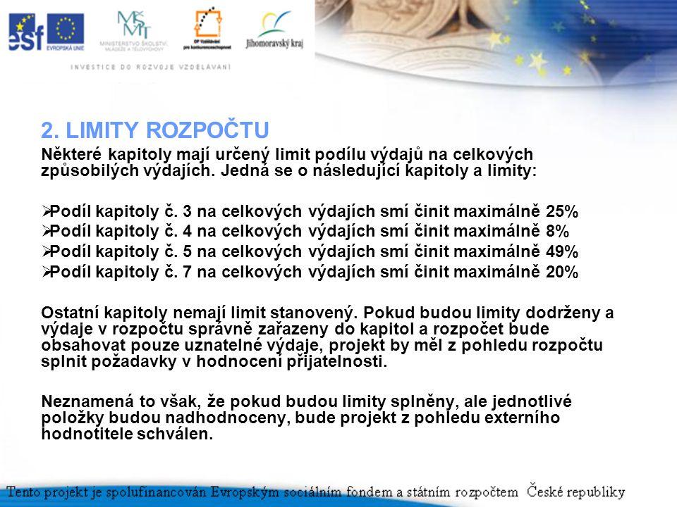 3.ZROJE FINANCOVÁNÍ PROJEKTŮ Projekty prioritní osy č.