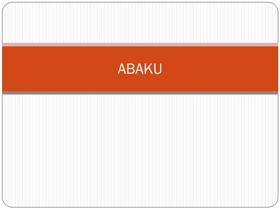 Abaku – kombina č n ě strategická po č etní hra pro 2 až 4 hrá č e.