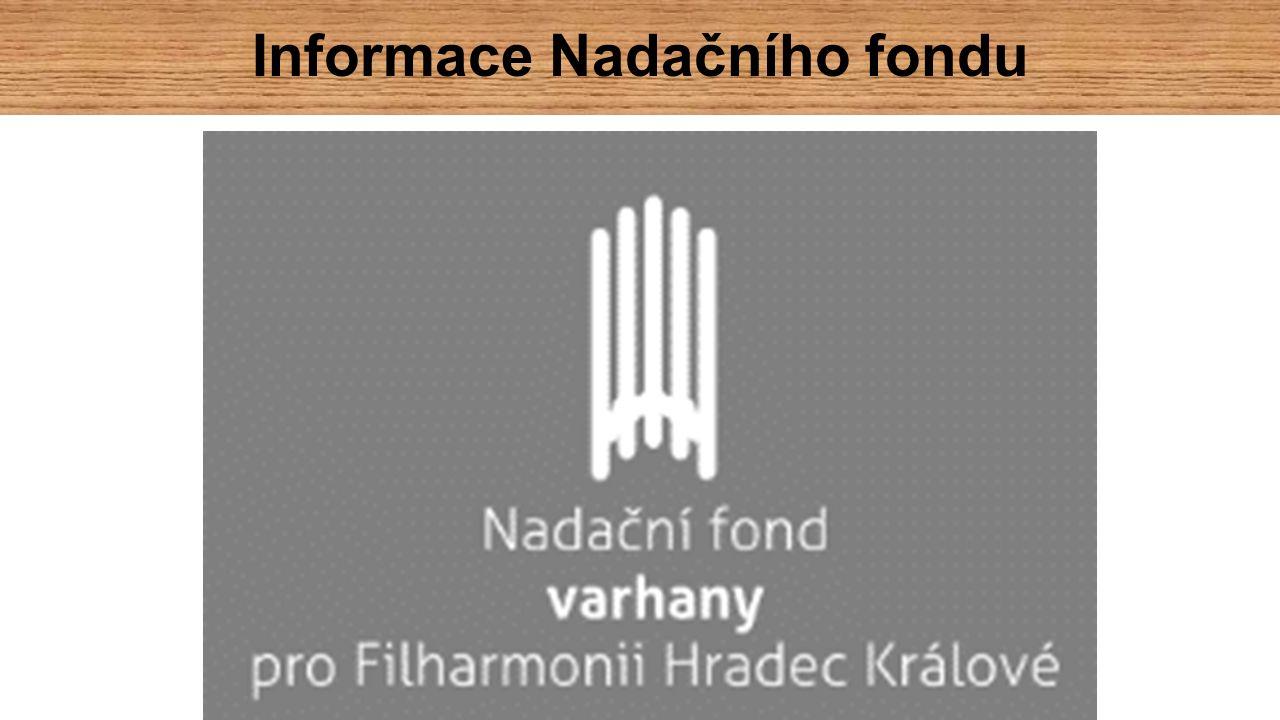 Informace Nadačního fondu