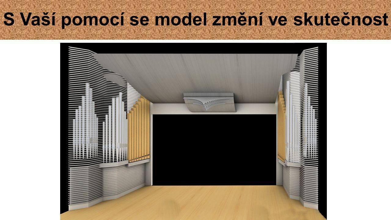 S Vaší pomocí se model změní ve skutečnost