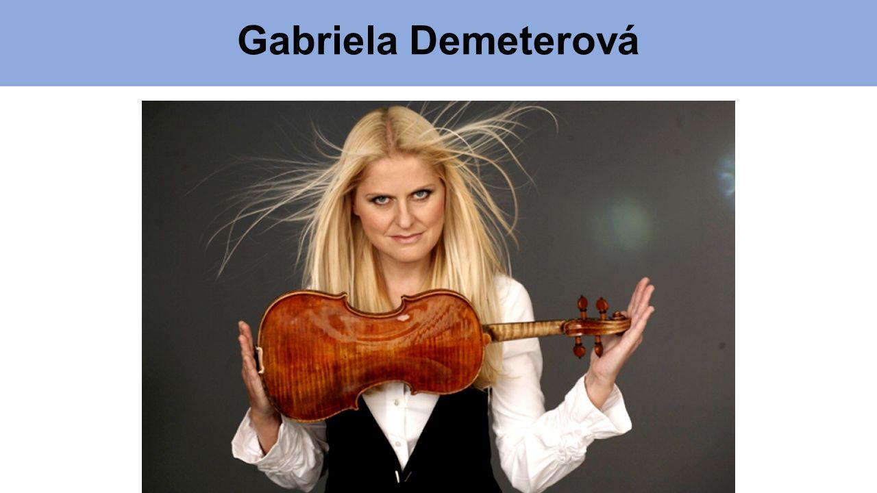 Gabriela Demeterová