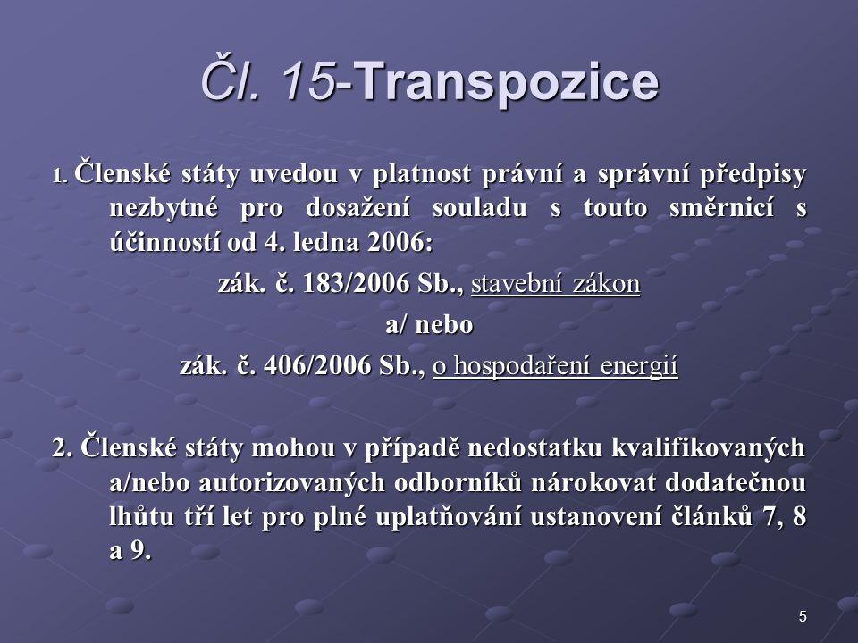 5 Čl. 15-Transpozice 1.